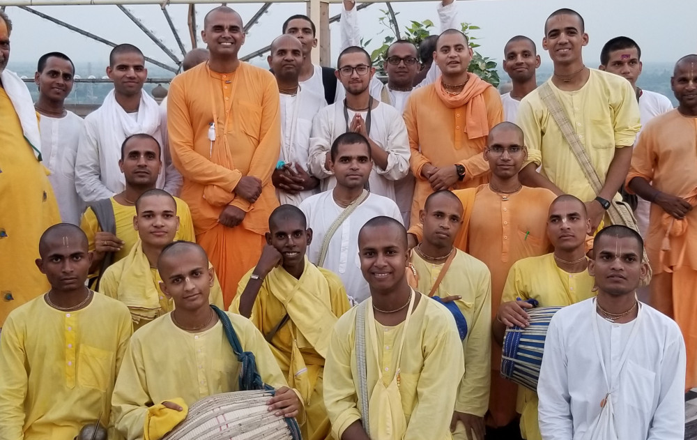 New Bhakta Department | ISKCON Vrindavan